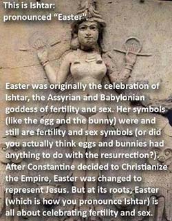 Dawkin's Ishtar-Eostre picture