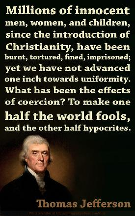 Jefferson on Christianity