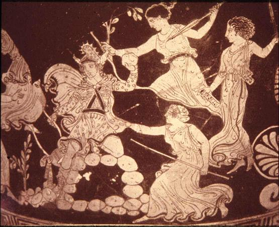 The dying and rising gods orpheus